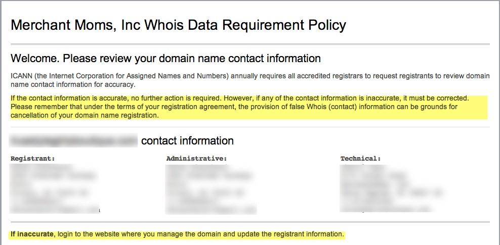 Merchantmoms Llc Knowledgebase Domain Verification